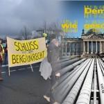 """Widerstand gegen die """"Fracking-Gesetze"""" gibt es inzwischen nicht nur außerhalb, sondern auch innerhalb der Regierung"""