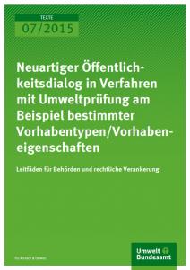 Cover BMUB Öffentlichkeitsbeteiligung