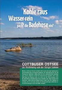 Cover Kohlerundbrief zum Lausitzer Ostsee