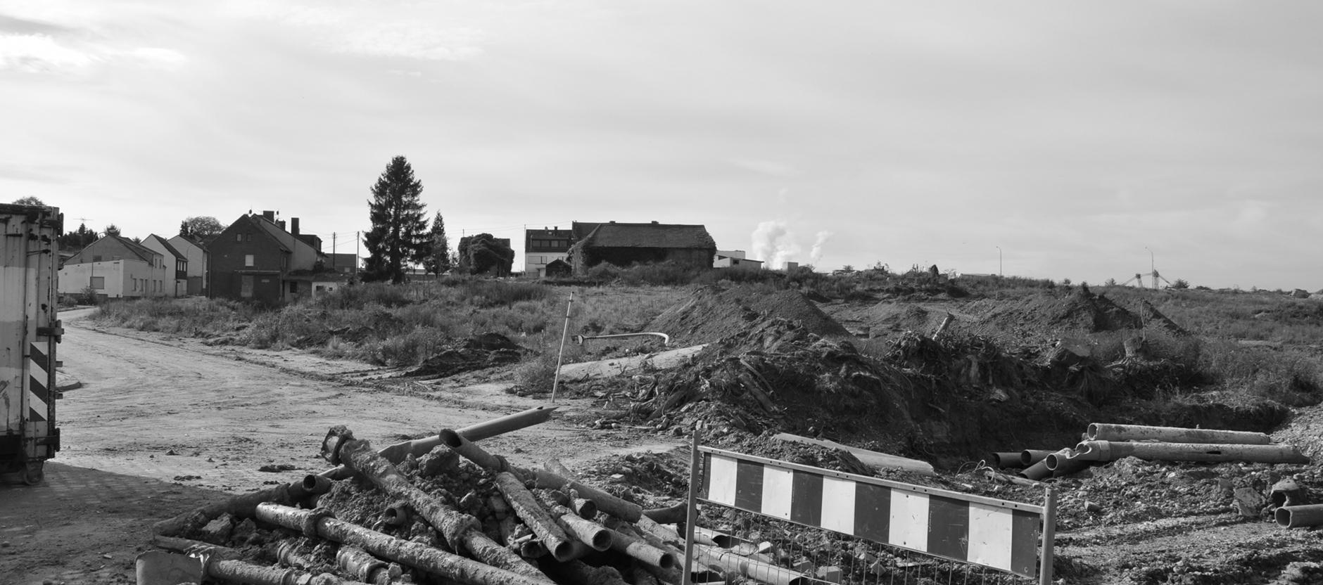 Noch nicht ganz abgebaggert: Der Ort Pier († 2014)